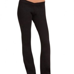 Capezio size medium women's black jazz dance pants